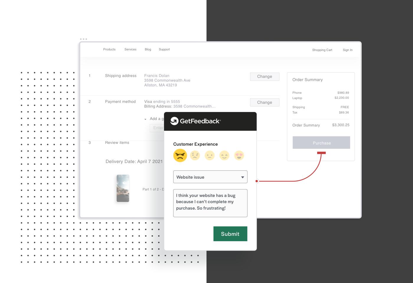 Product Screen ECommerce